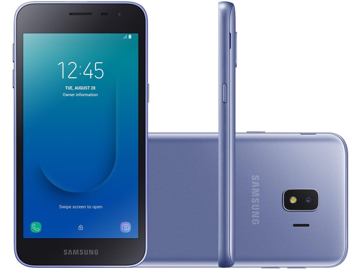 Celular Samsung J2 Core - 16GB - Prata