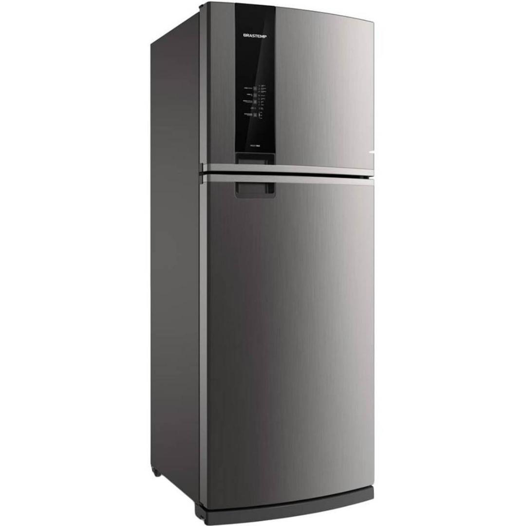 Refrigerador BRM56AK Frost Free com Espaço Adapt 462L Evox - Brastemp