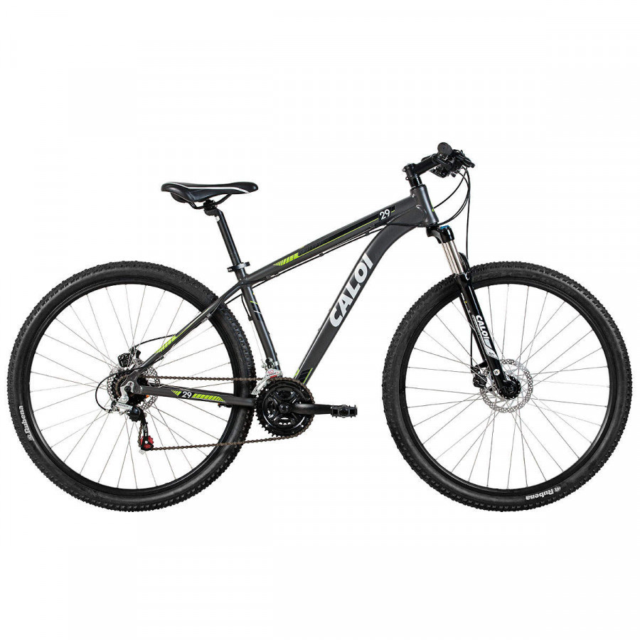 Bicicleta aro 29 t17 21v a18 cinza