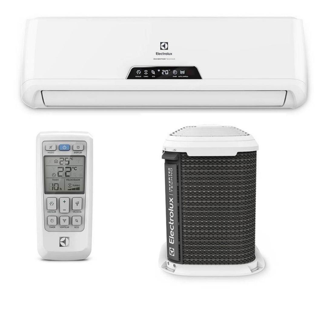 Ar-condicionado Split Inverter Hi-Wall 9000 Btu/h Frio QI09F/QE09F - Electrolux