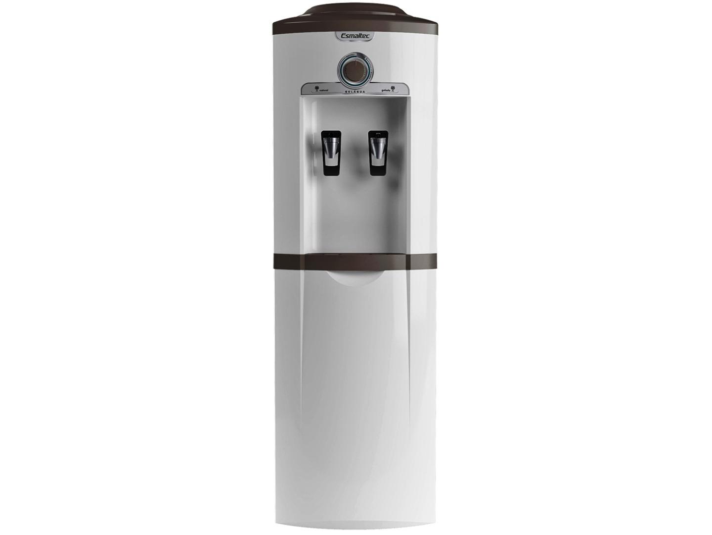 Bebedouro de Coluna Refrigerado por Compressor - Esmaltec - Branco