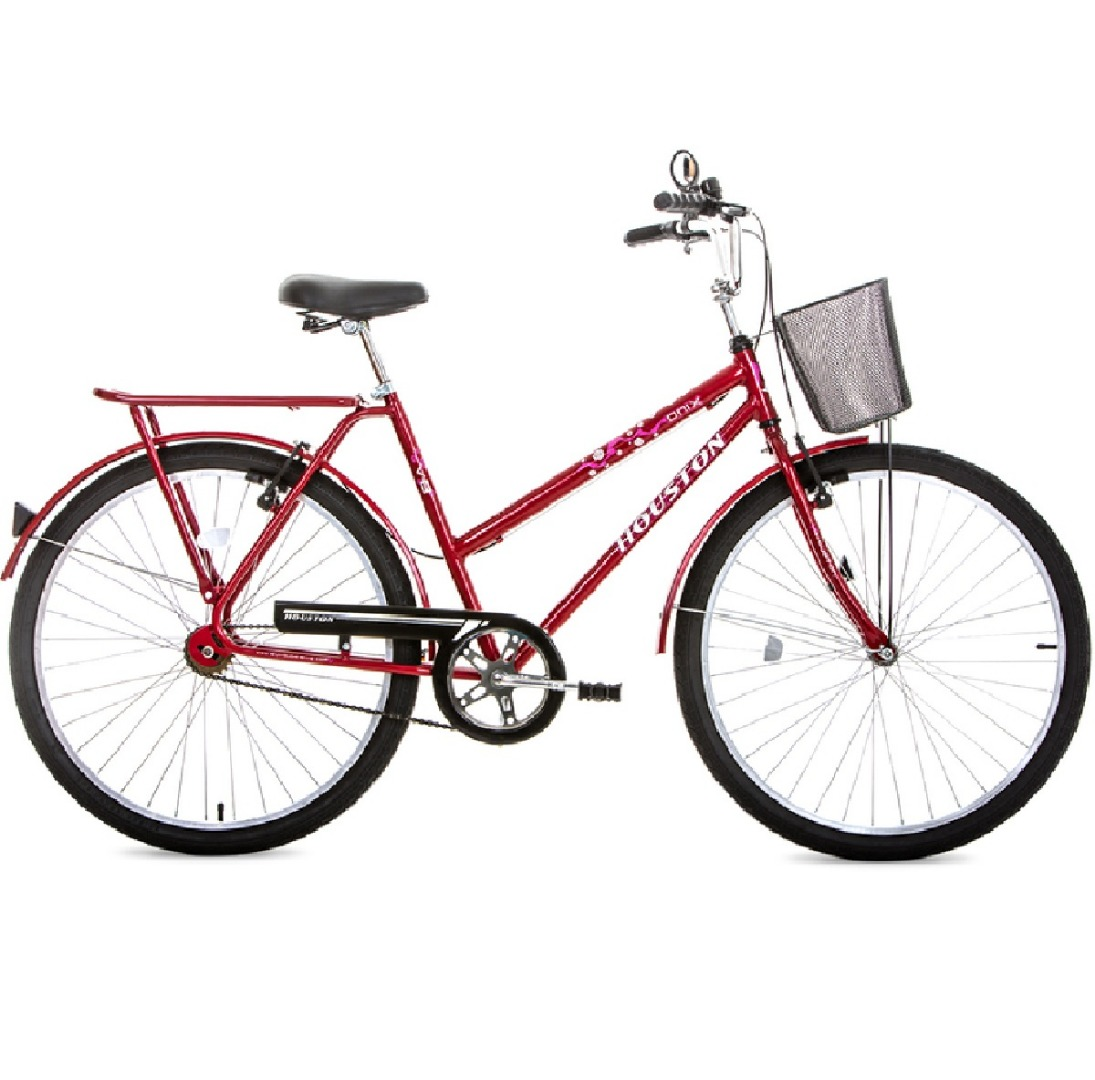 Bicicleta Aro 26 Onix VB Vermelha - Houston
