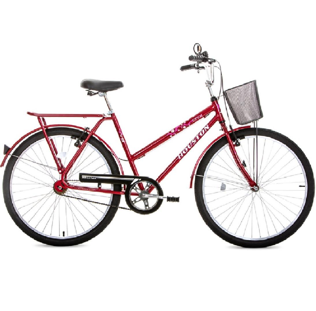 Bicicleta Aro 26 Onix VB Vermelha - Houston
