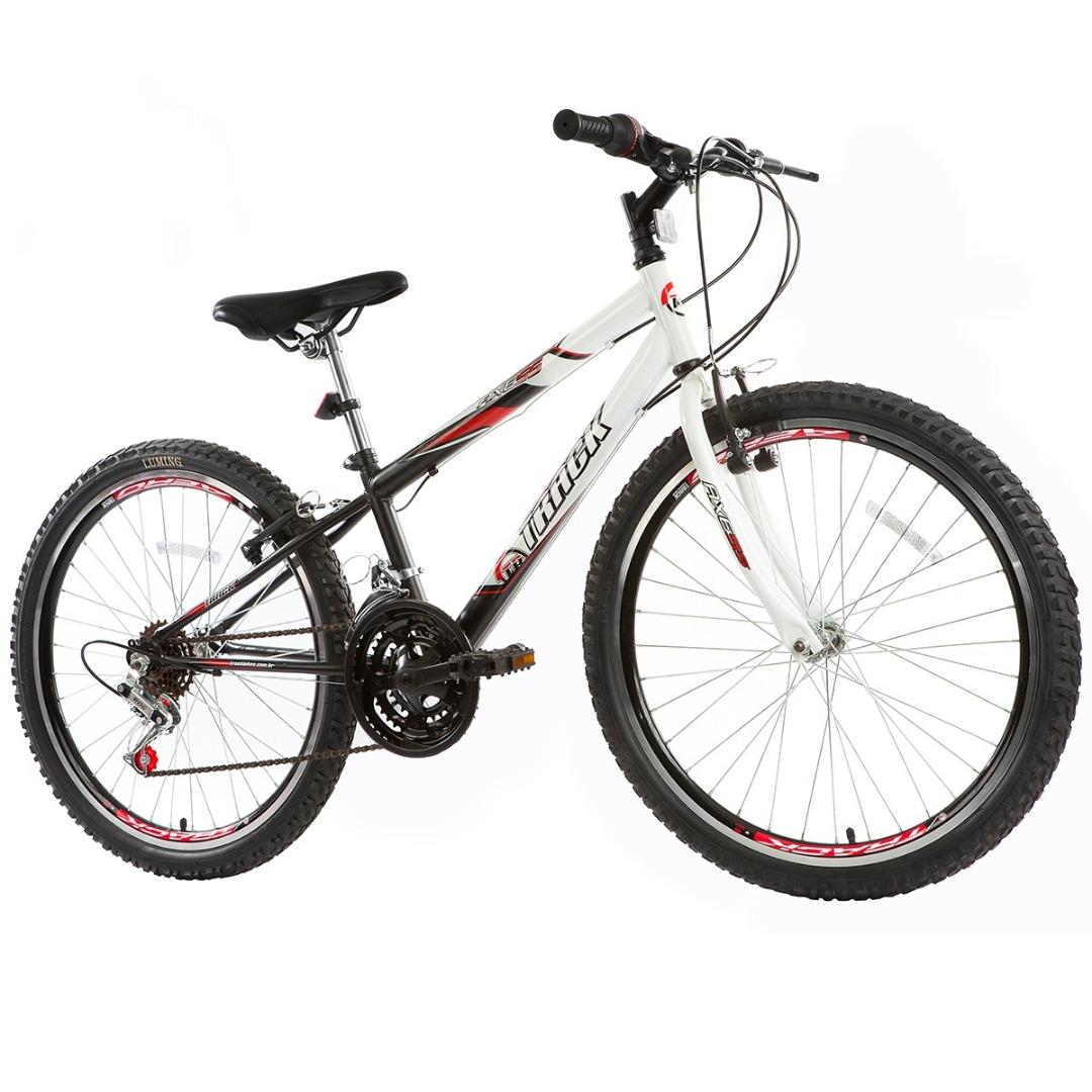 Bicicleta Axess - Aro 24 - Branco e Preto - Track Bikes