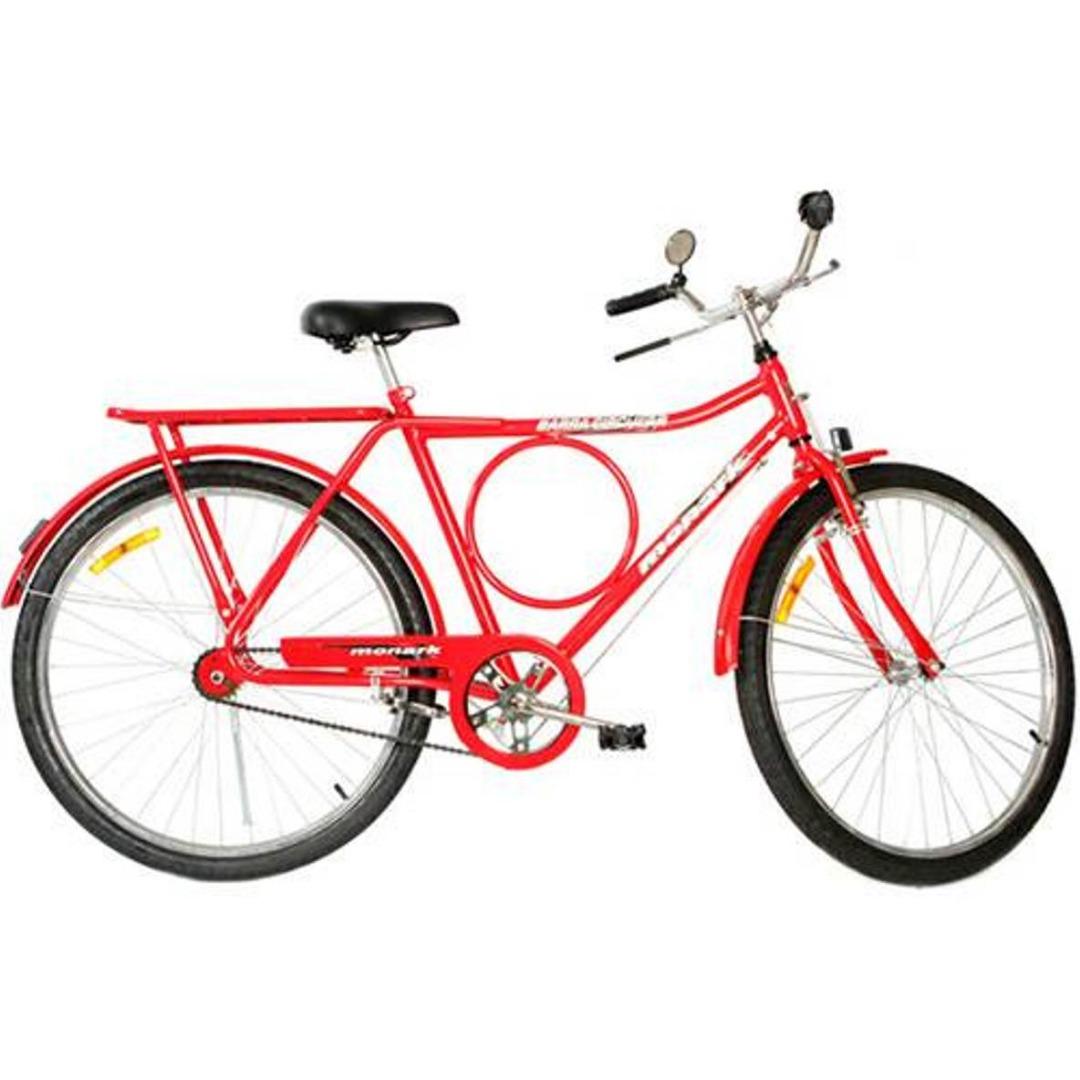 Bicicleta Barra Circular FI Aro 26 Vermelho - Monark