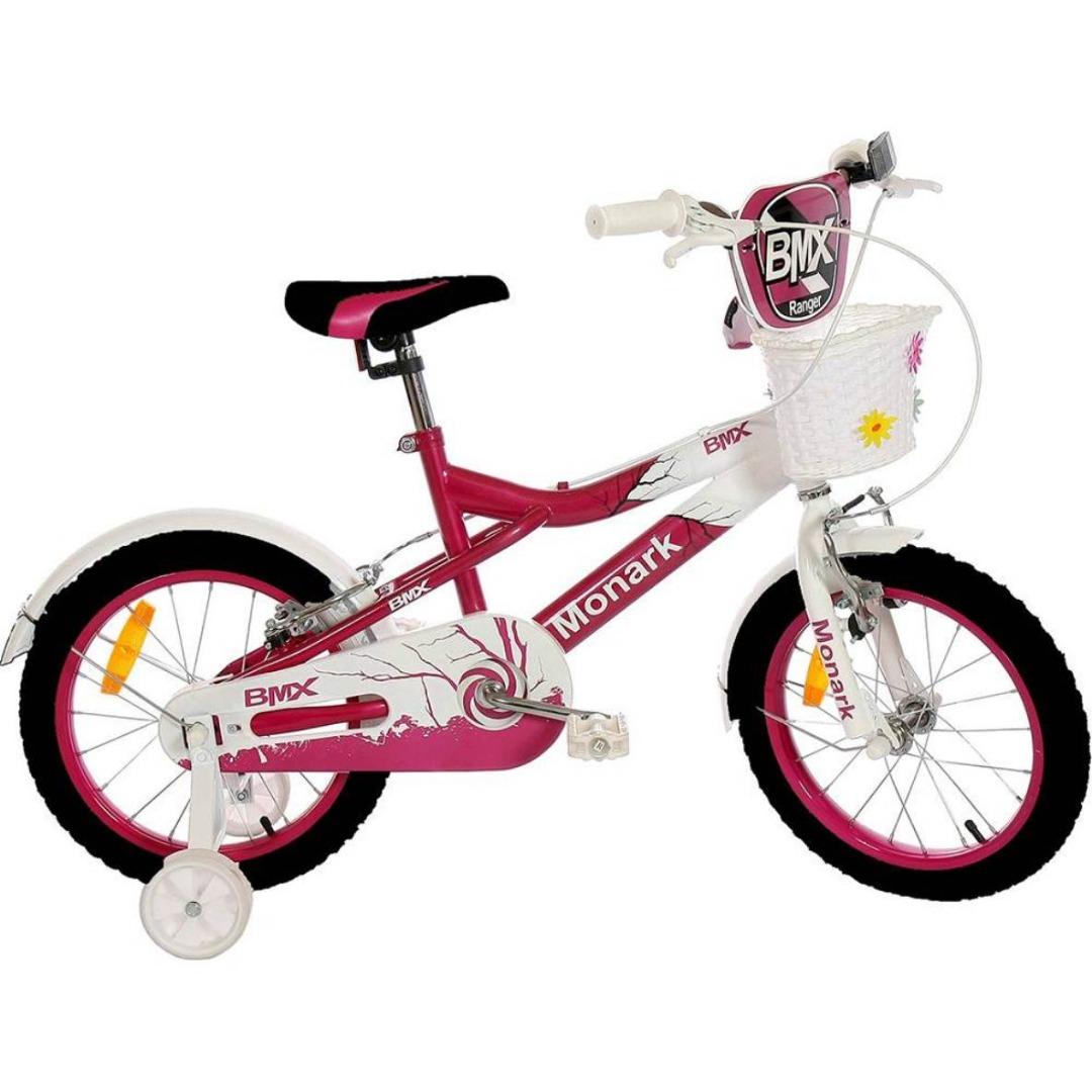 Bicicleta Feminina BMX R Aro 16 Rosa - Monark