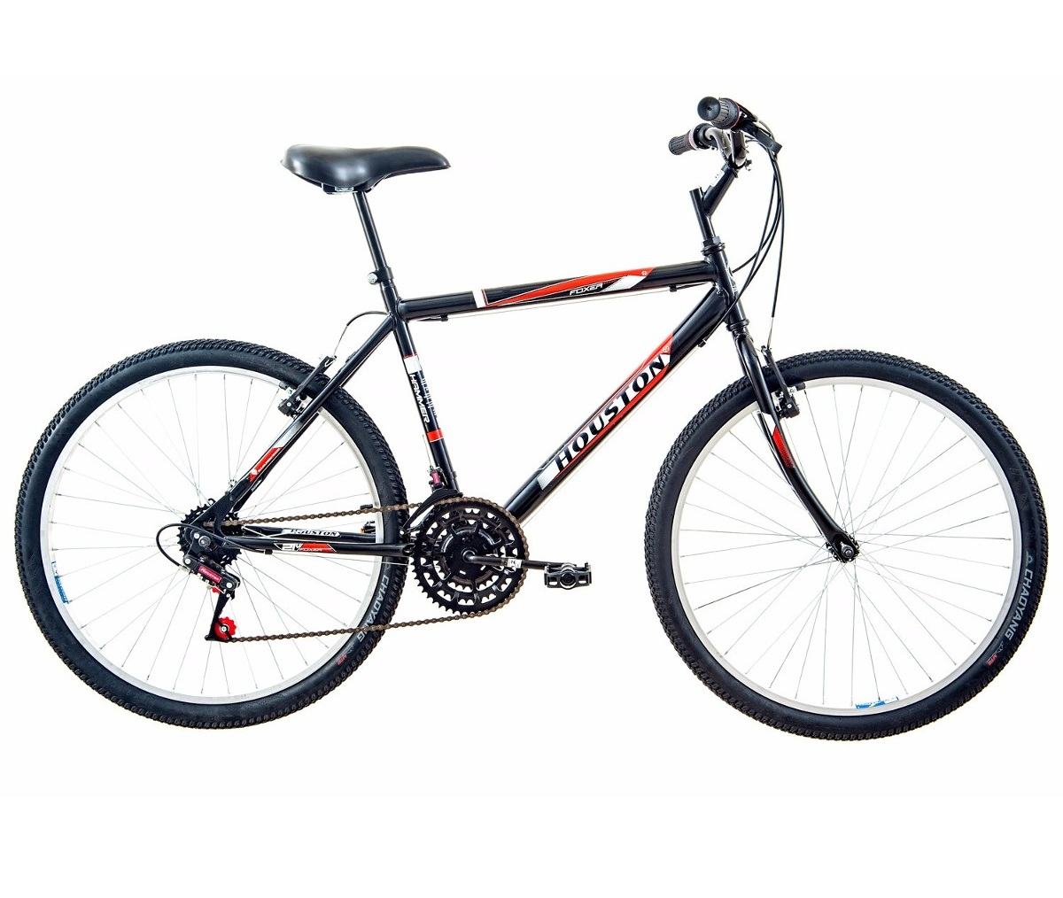 Bicicleta Foxer Hammer Aro 26 21 Marchas Preta - Houston