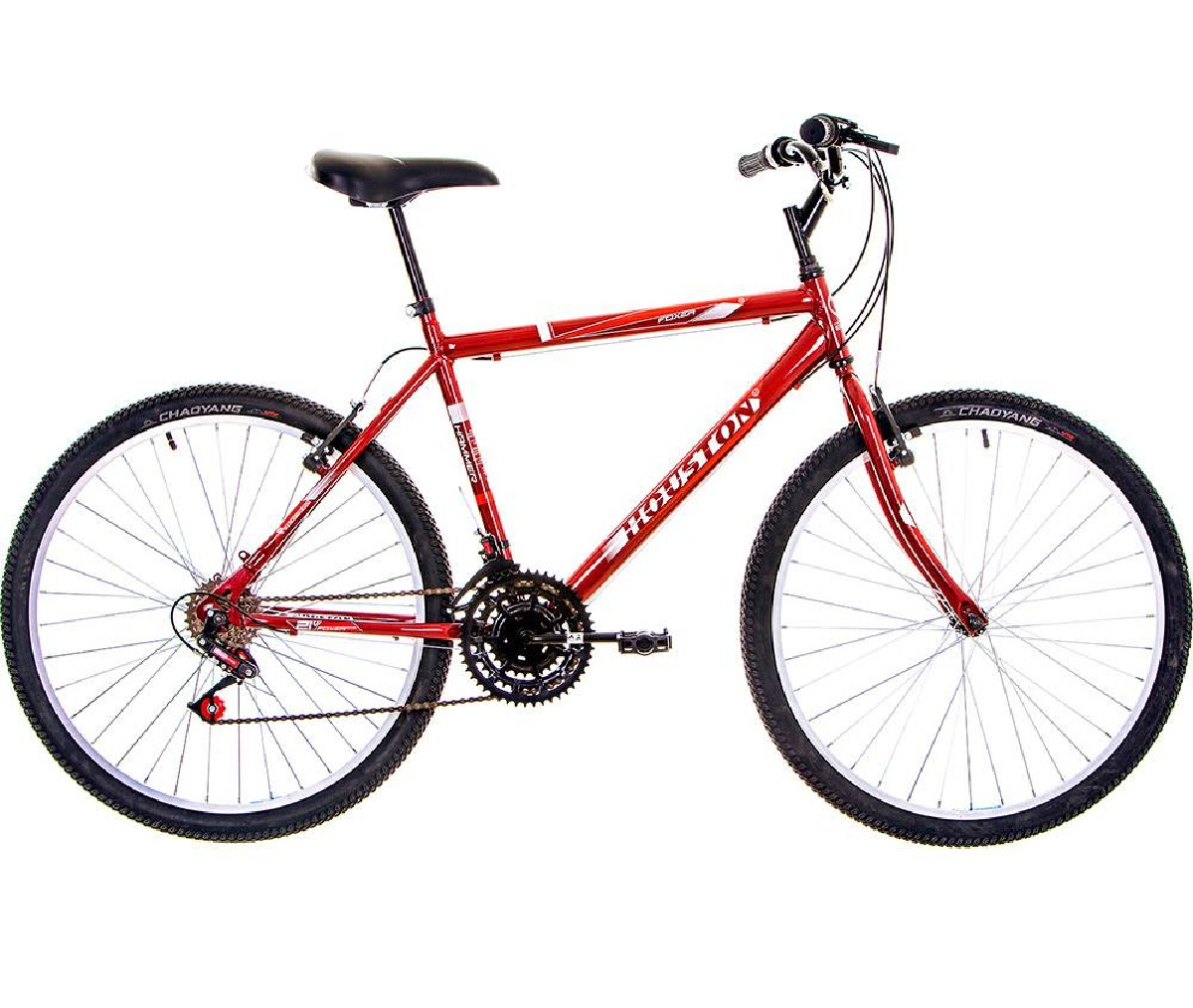 Bicicleta Foxer Hammer Aro 26 21 Marchas Vermelha - Houston