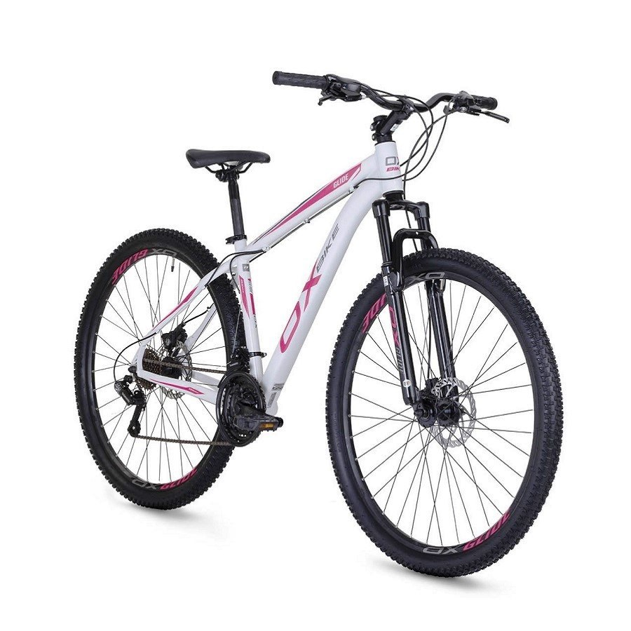 Bicicleta Glide - Aro 29 - Ox - Tam 17 - Branco/Grafite