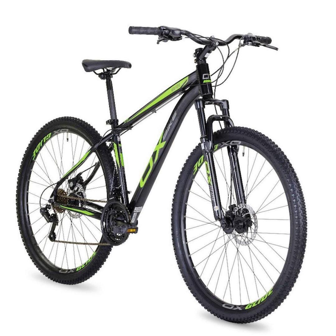 Bicicleta Glide - Aro 29 - Ox - Tam 19 - Preto/Verde
