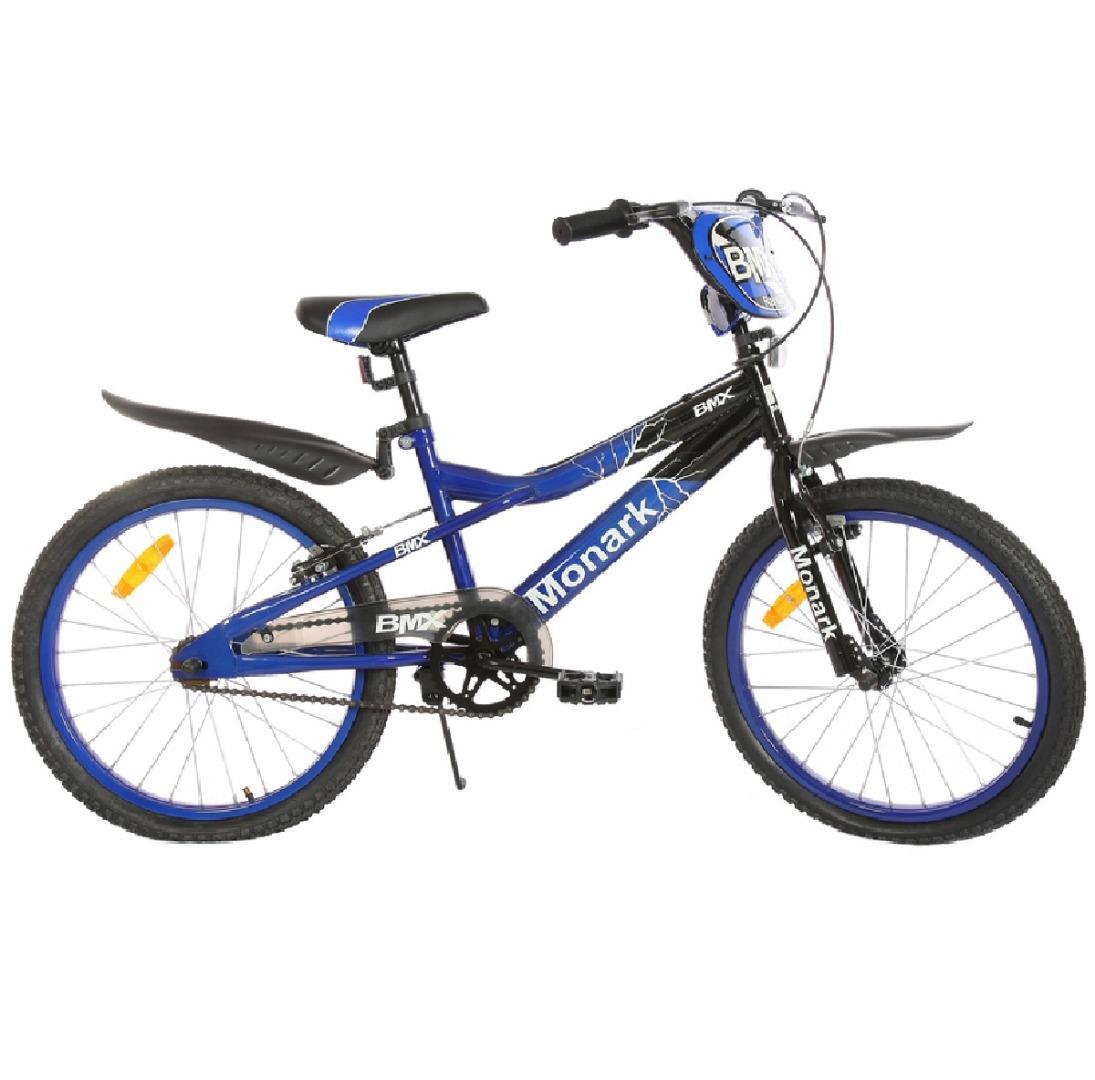 Bicicleta Infantil Aro 20 BMX Ranger - Preta/ Azul - Monark