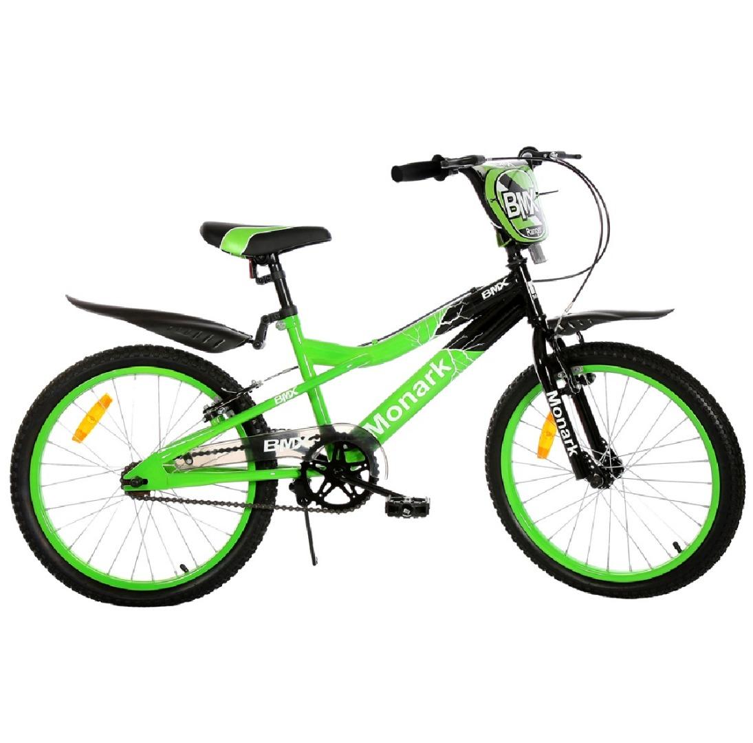 Bicicleta Infantil Aro 20 BMX Ranger - Verde - Monark