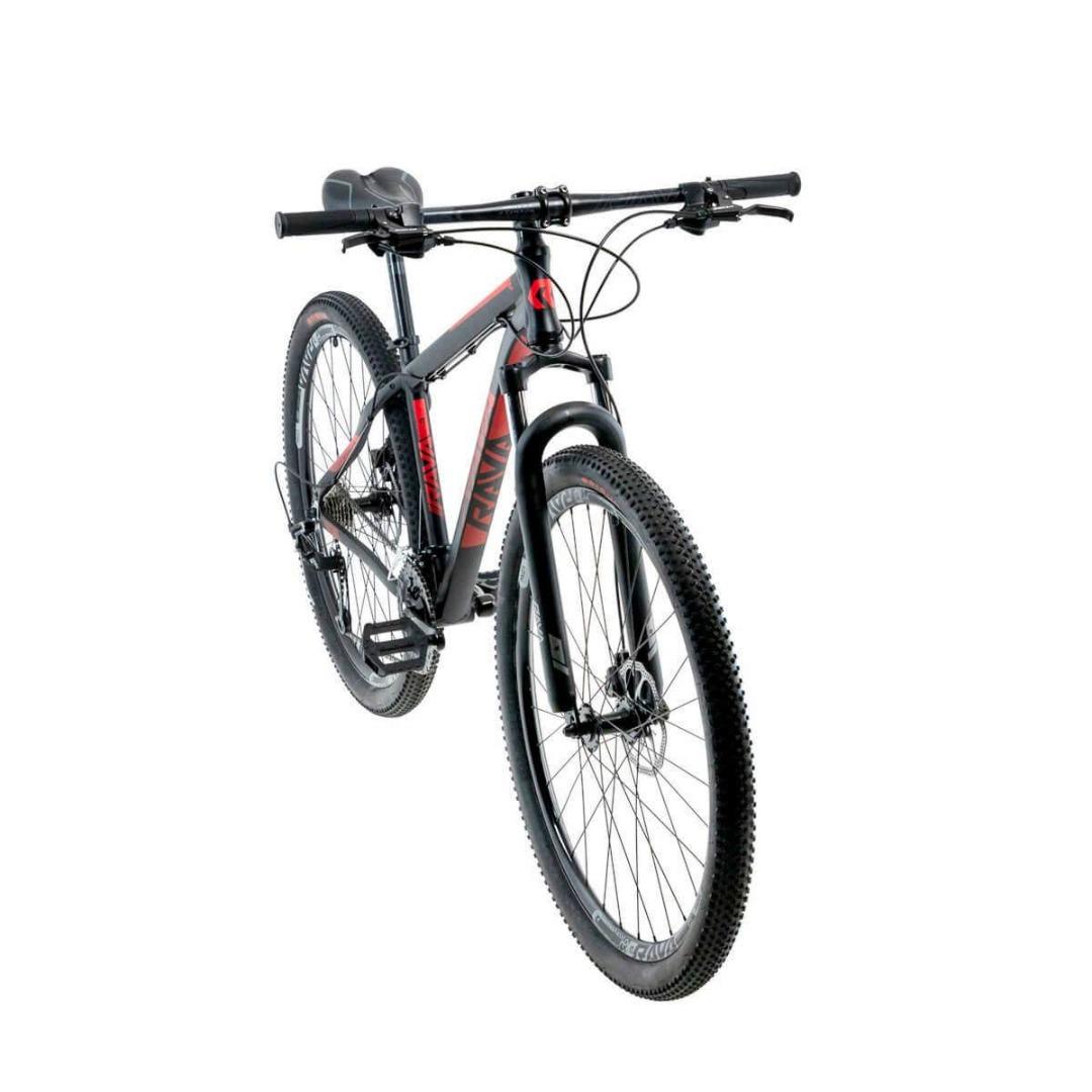 Bicicleta Rava - Tsw - Tam 19 - 24V - Preto/Vermelho