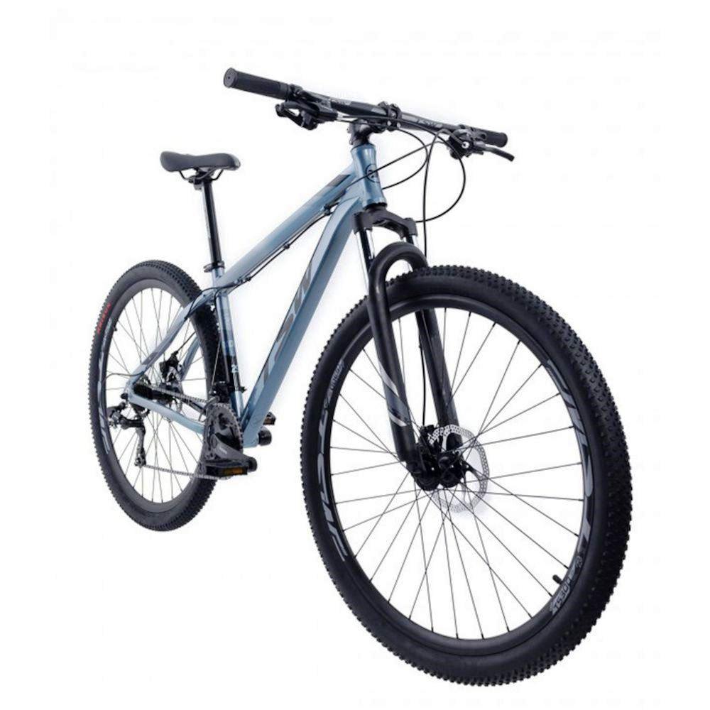 Bicicleta Ride - Tam 17 - 21V -  Tsw - Cinza Metálico