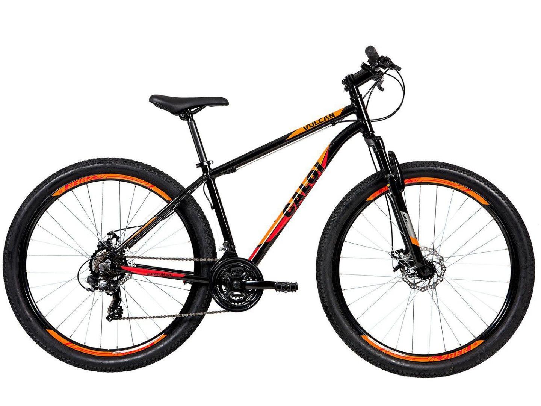 Bicicleta Vulcan Aro 29 Tam 15 - Caloi - Preto