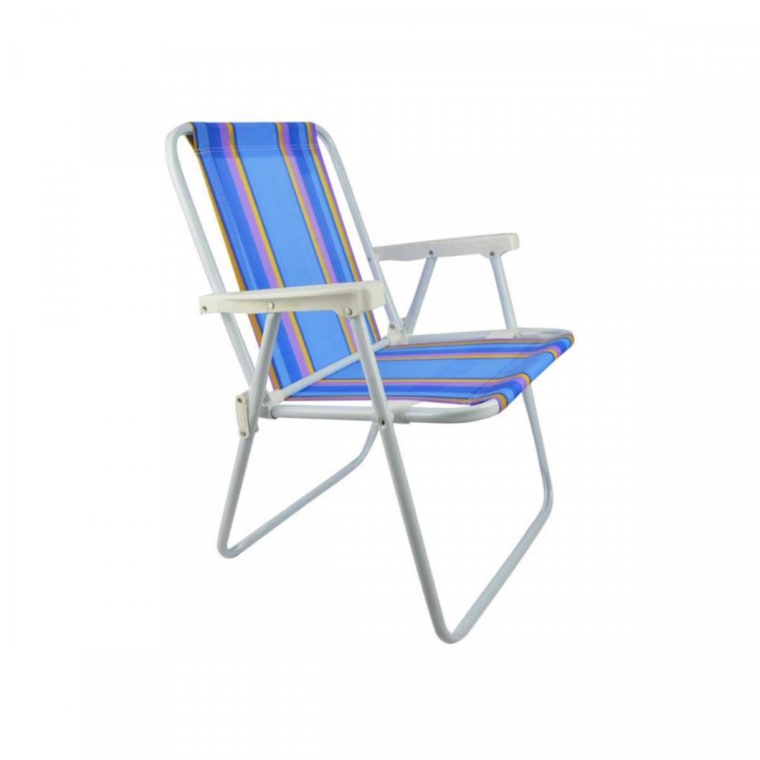 Cadeira Aço - Dobrável - Mor