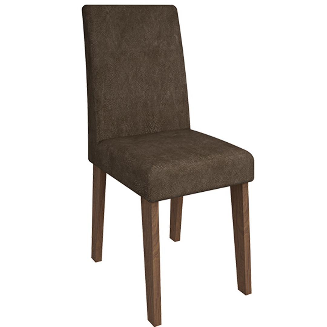 Cadeira Milena Savana/Cacau - Cimol