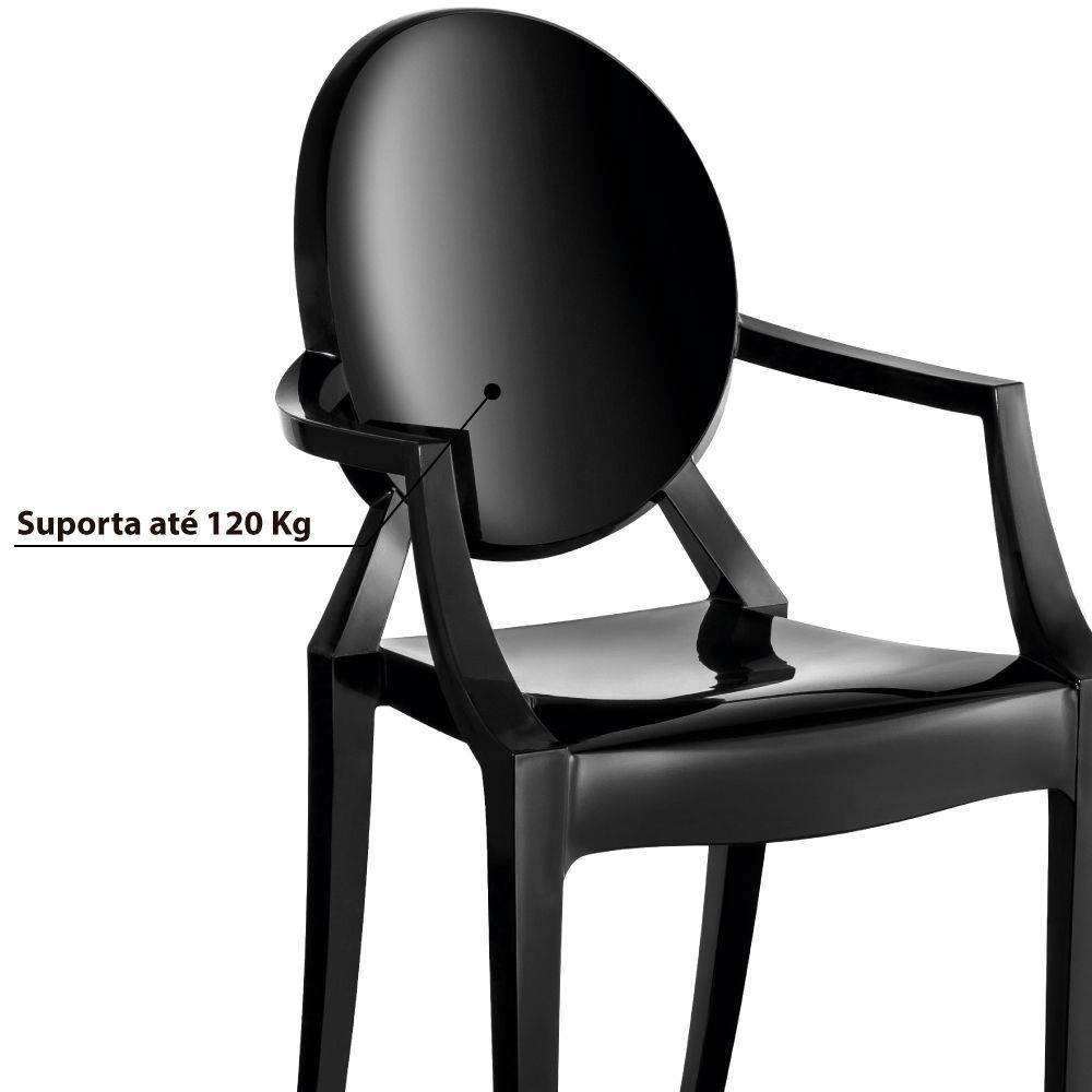 Cadeira Wind Plus UZ4003 - Preto - Kappesberg