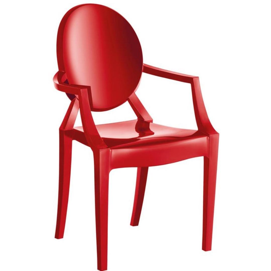 Cadeira Wind Plus UZ4003 - Vermelho - Kappesberg