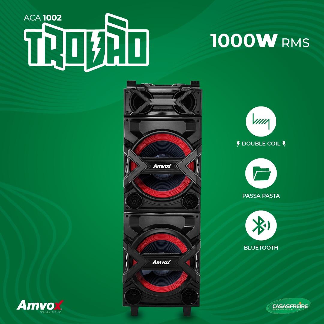 Caixa Amplificada Trovão ACA 1002 - Amvox