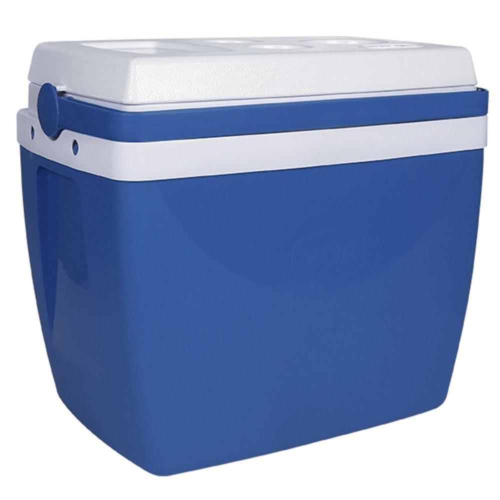 Caixa Térmica 26L Azul com Alça - Mor