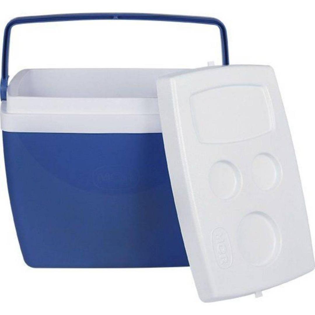 Caixa Térmica 34L Azul com Alça - Mor