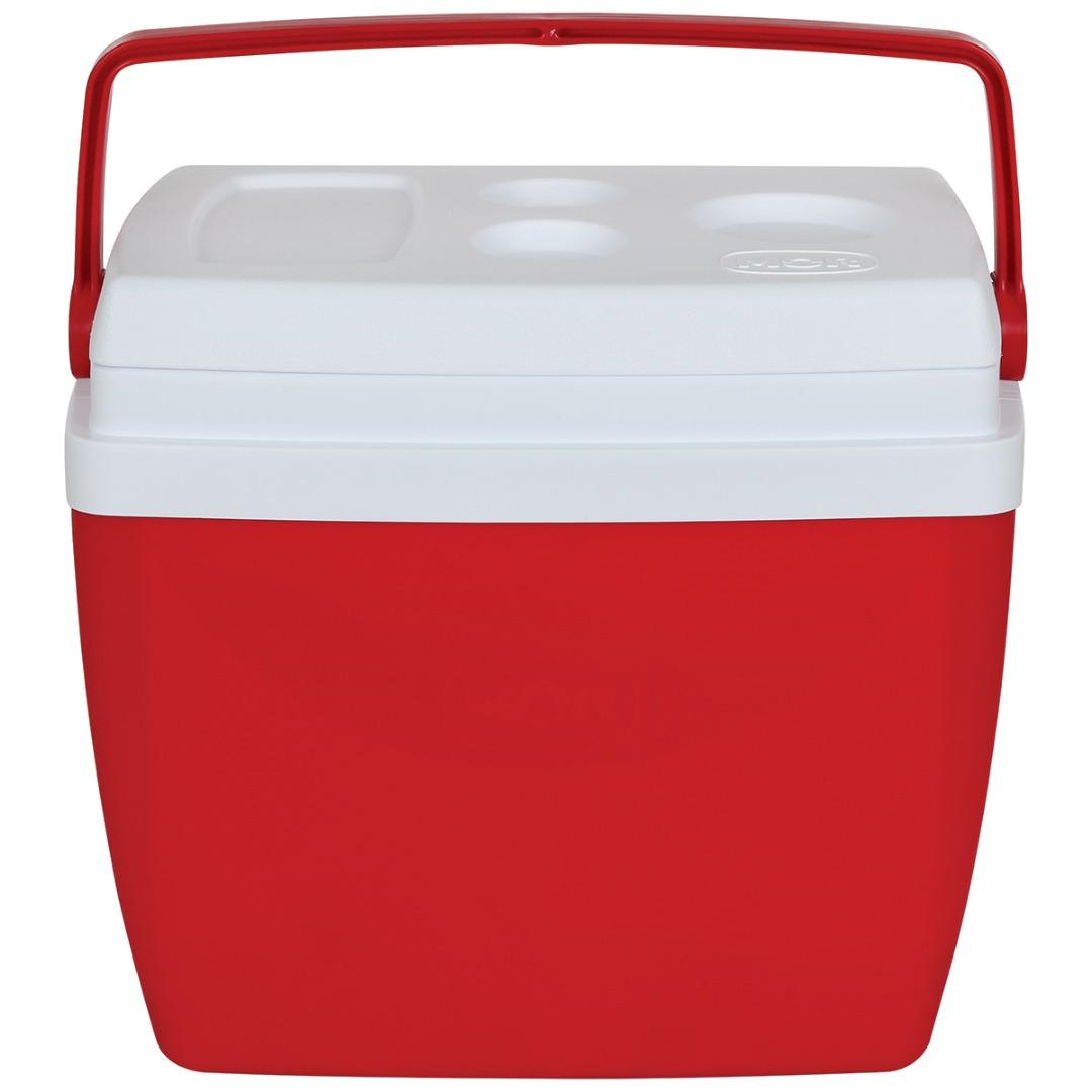 Caixa Térmica 34L Vermelha com Alça - Mor