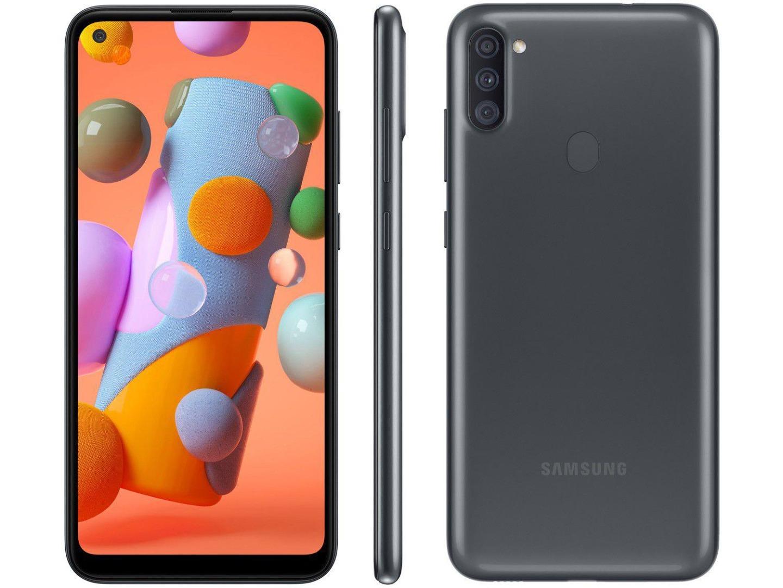 Smartphone Galaxy A11 - Samsung - Preto