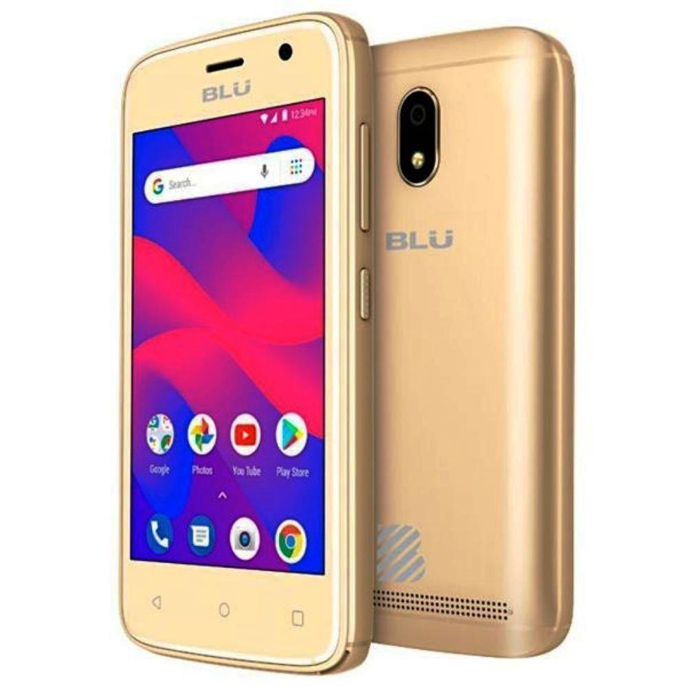 Celular C4 Dual Chip 8 Gb - Blu - Ouro