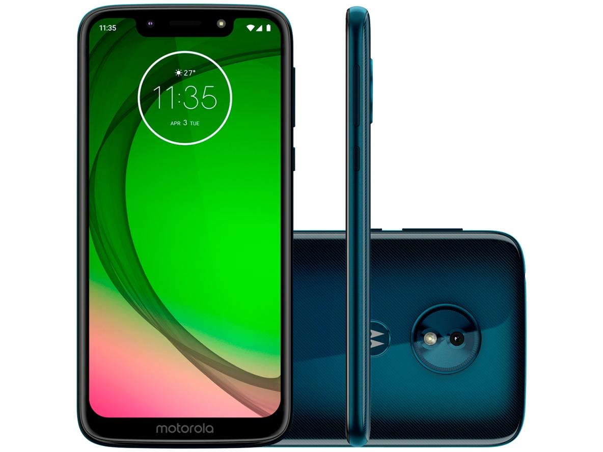 Celular Motorola Moto G7 Play - 32GB - Azul