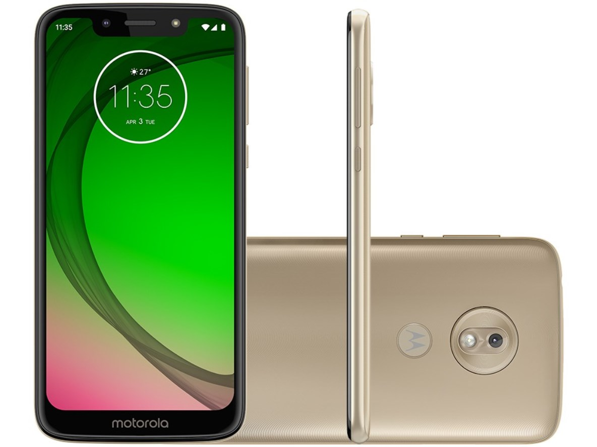 Celular Motorola Moto G7 Play - 32GB - Ouro