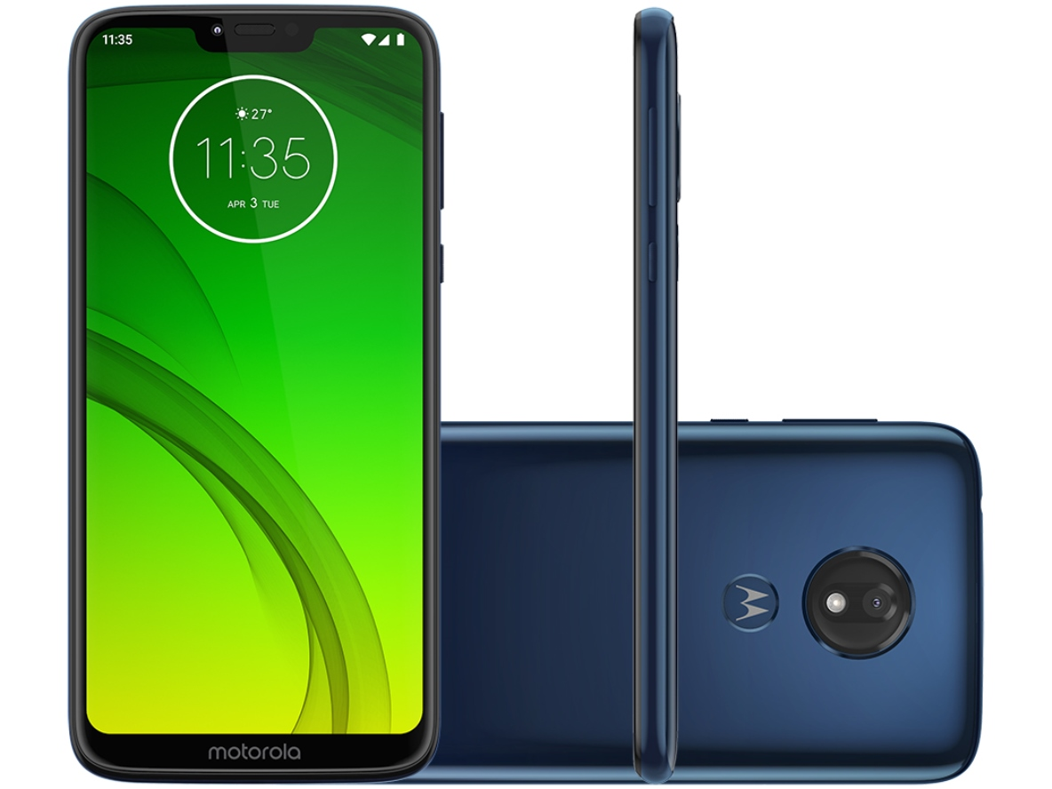 Celular Motorola Moto G7 Power - 32GB - Azul