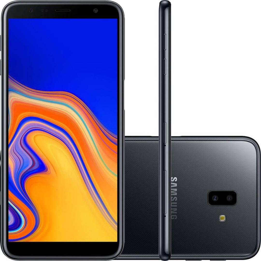 Celular Samsung J6 Plus Dual - 32GB - Preto