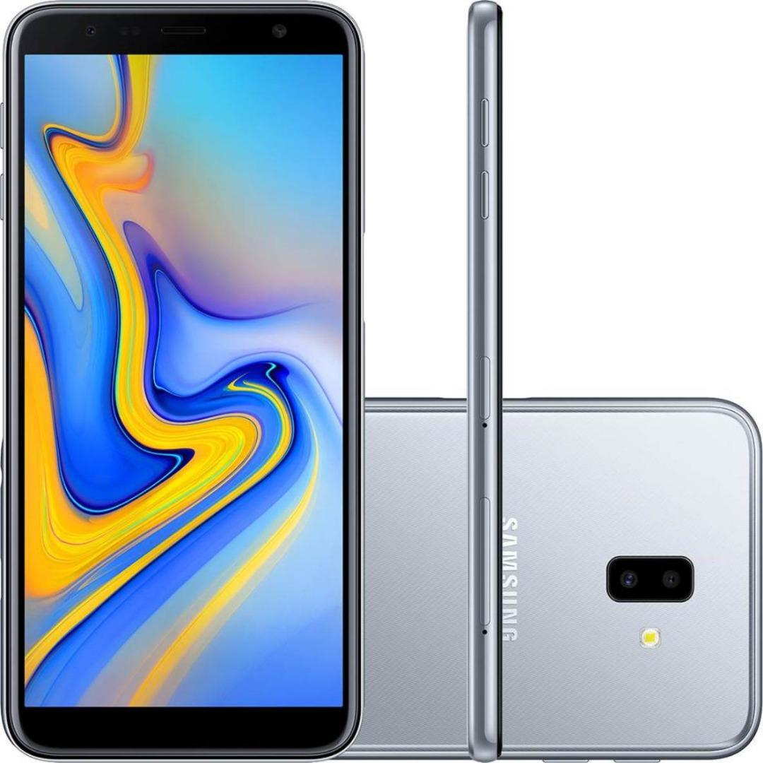 Celular Samsung J6 Plus Dual - 32GB - Prata