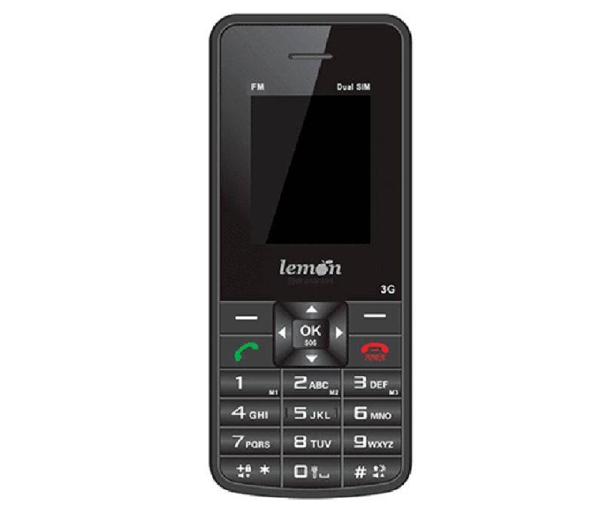 Celular Sensi 3g Com Fm, Antena Rural, Sos Para Idoso - Lemon
