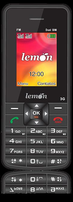 Celular lemon sensi barra 3g lm-754 3g
