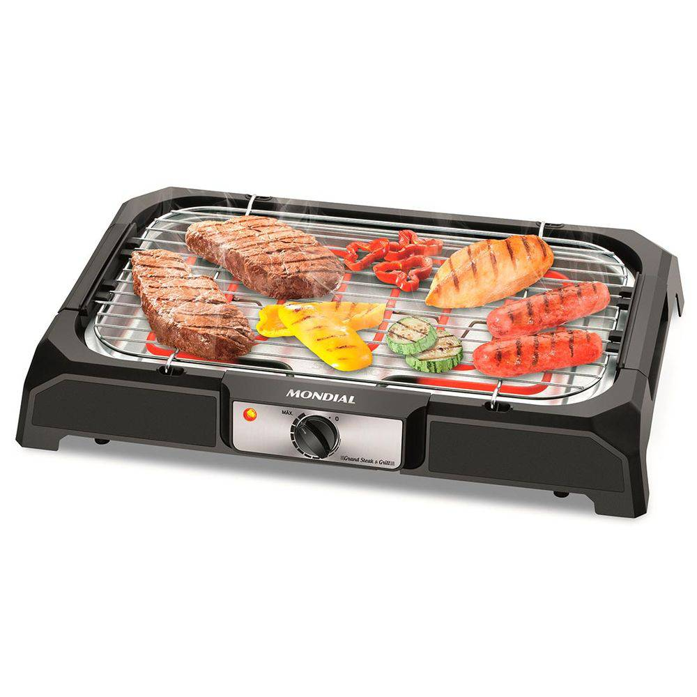 Churrasqueira Elétrica de Mesa 220V Grand Steak Grill CH-05 - Mondial