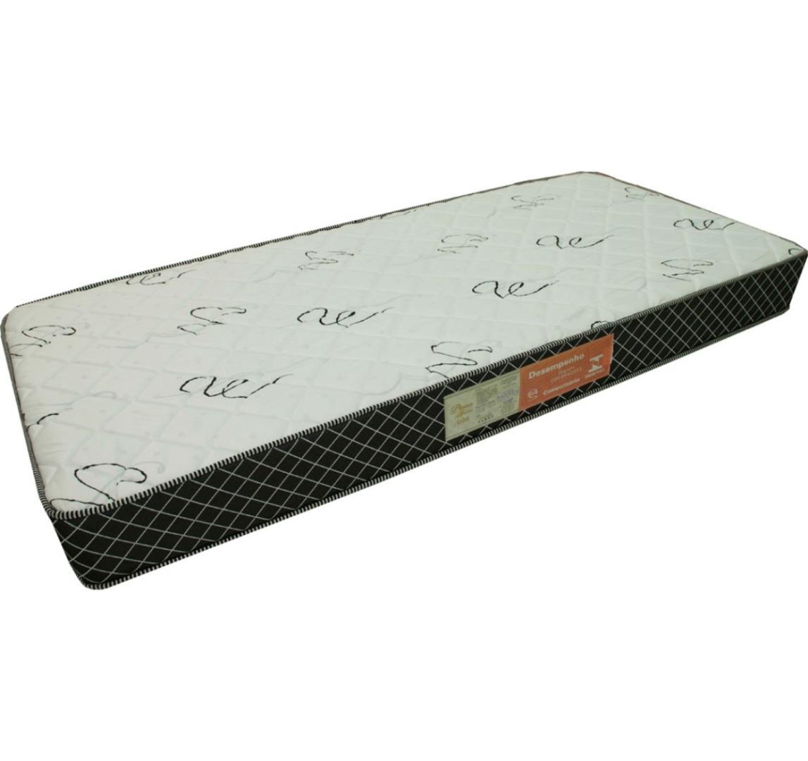 Colchão Espuma Confortex D28 Solteiro 88X188X18 - Branco - Plumatex
