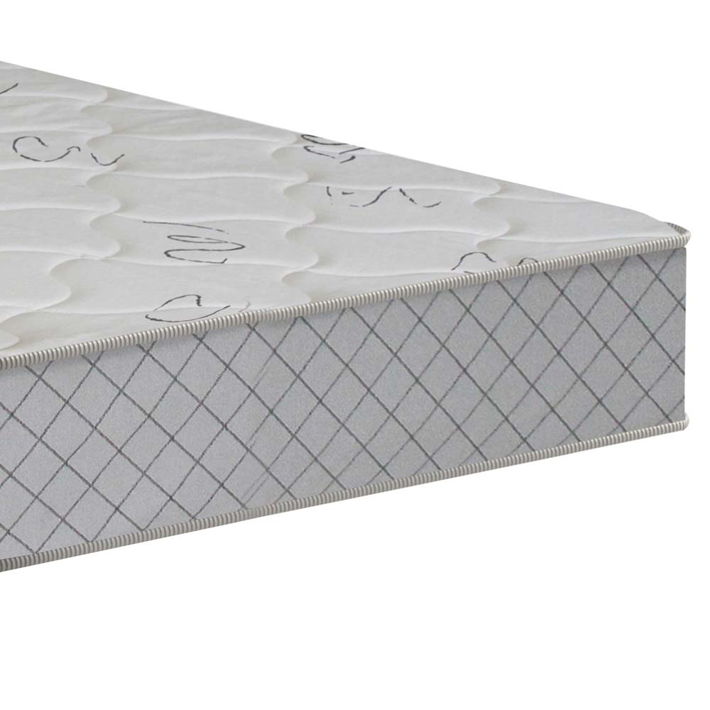 Colchão Solteiro Falcon Firme 20x88x188cm - Branco/Cinza - Plumatex