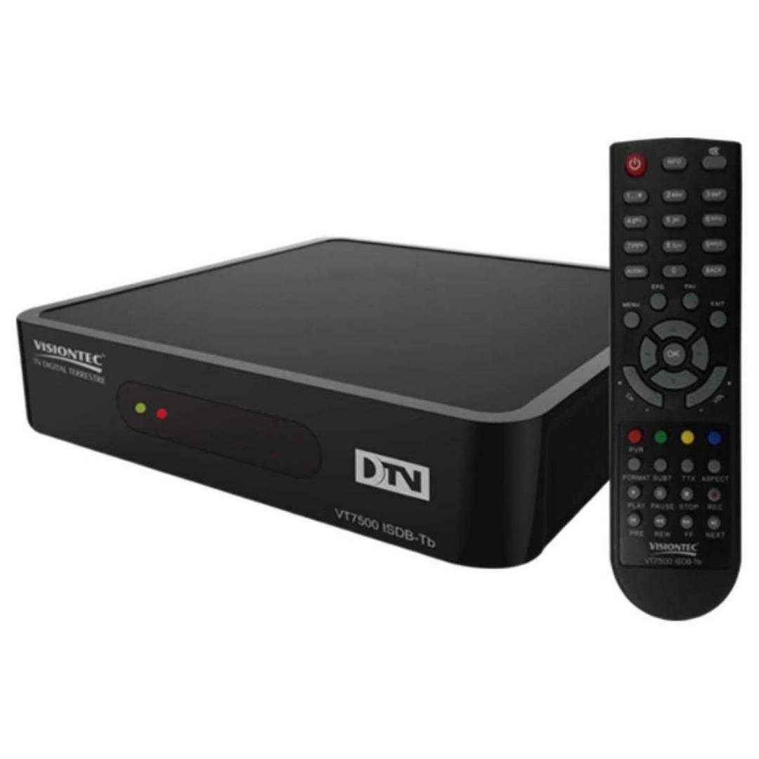 Conversor Digital Full HD VT7500 - Vision Tec