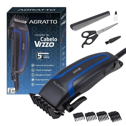 Cortador De cabelo Vizzo - Agratto - 127 Volts