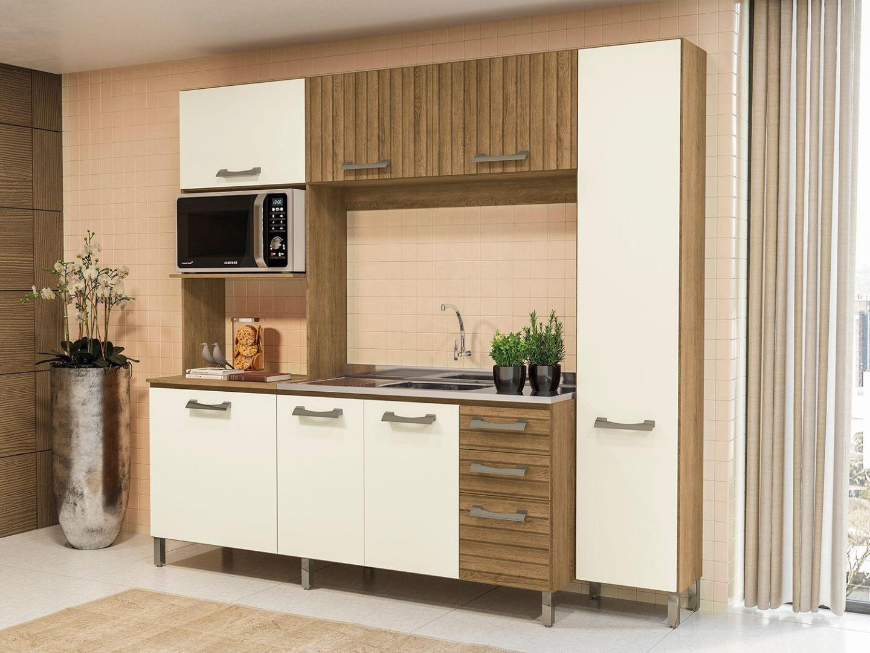Kit Cozinha Compacta - Kappesberg - Frejo/Off White