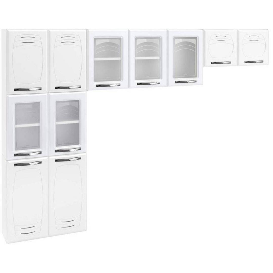Cozinha Compacta  - Telasul -  3 Peças - Branca