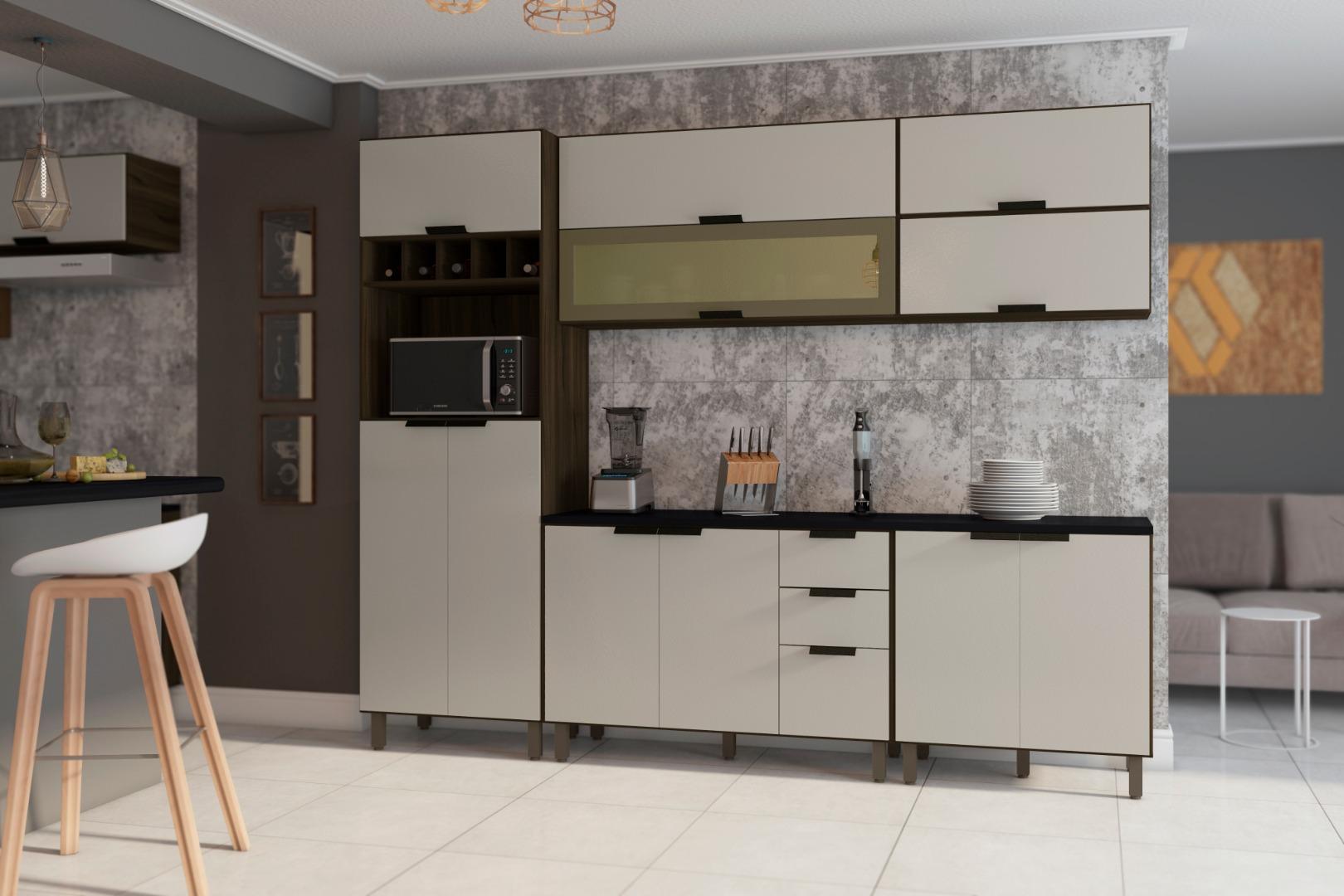 Cozinha Flair 5 Peças - Poliman