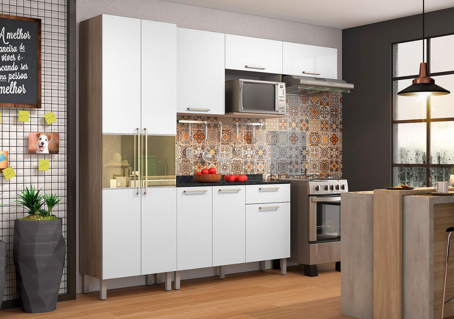 Cozinha Star Itatiaia - Aveiro Branco