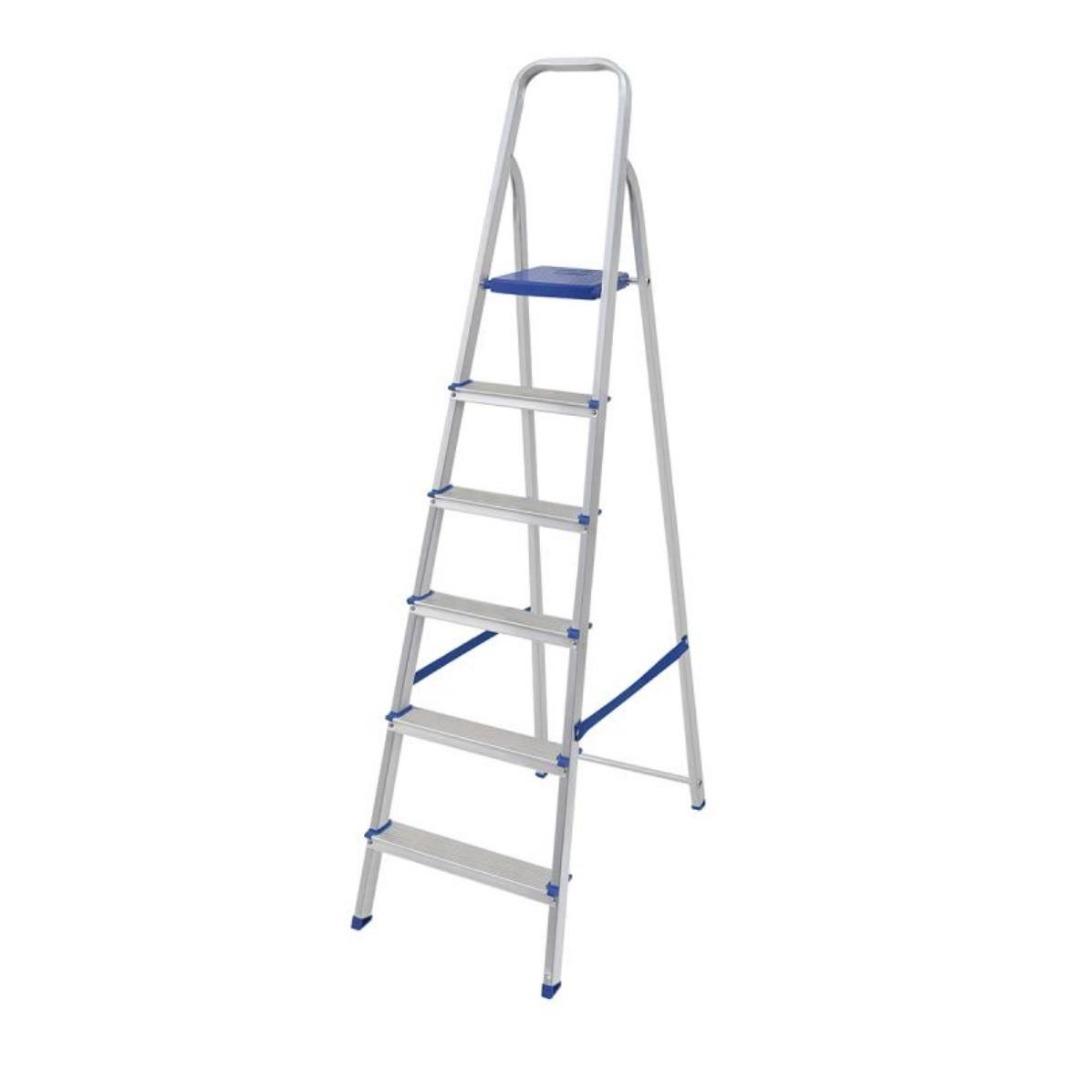 Escada Alumínio 7 Degraus - Mor