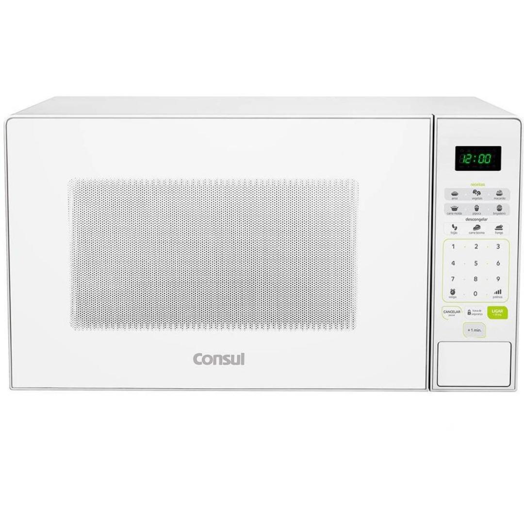 Forno de Micro-ondas CMW30AB Branco 30L - Consul