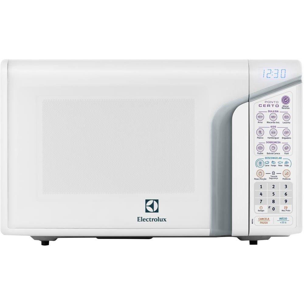Forno de Micro-ondas MEP37 com Menu Kids e Menu Descongelar 27L Branco - Electrolux