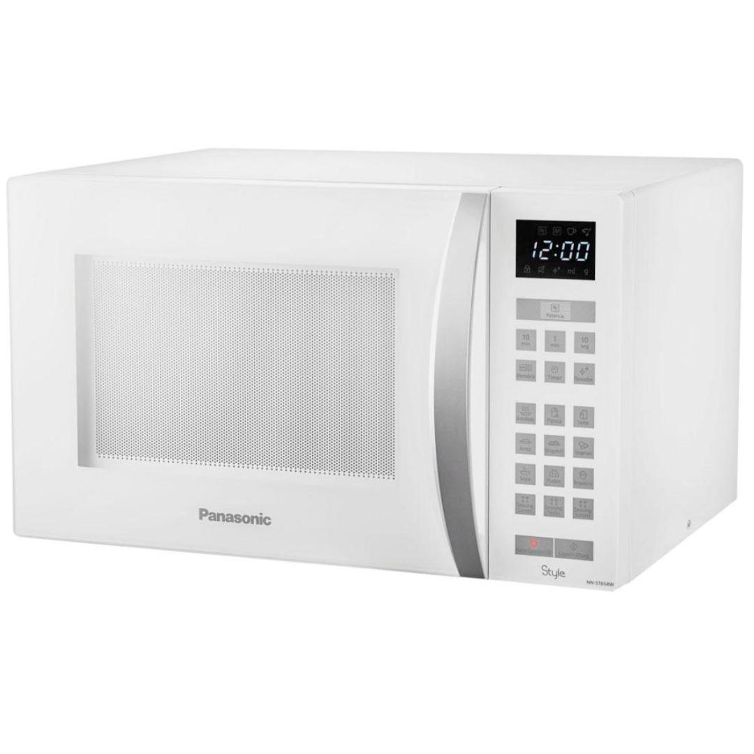 Forno de Micro-ondas Style Branco 32L - Panasonic