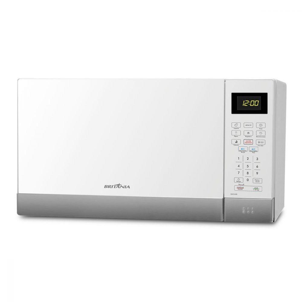 Forno Micro-ondas 26 Litros - Britânia - Branco - 220 Volts